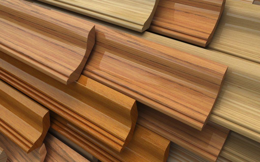 Купить потолочный деревянный плинтус Харьков